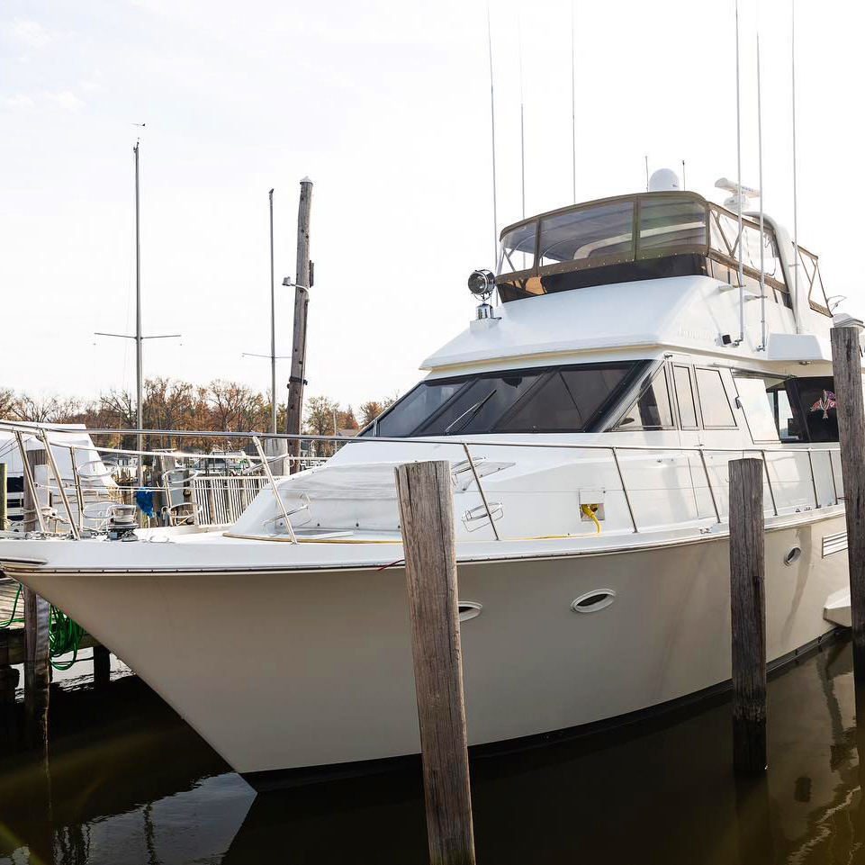 Yacht boat window tinting